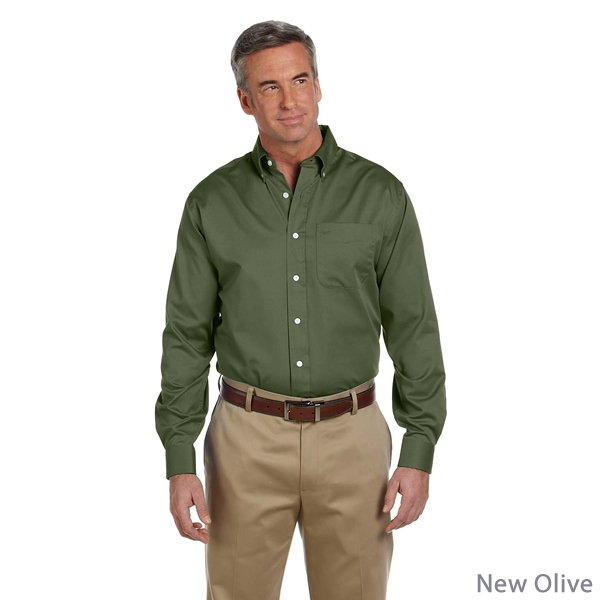 Promotional Devon & Jones D610 Men's Pima Advantage Twill Shirt