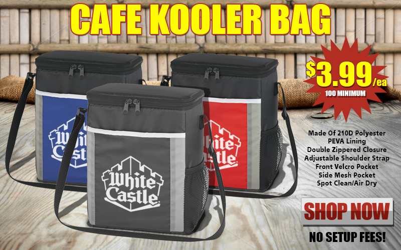 Promotional Cafe Kooler Bag