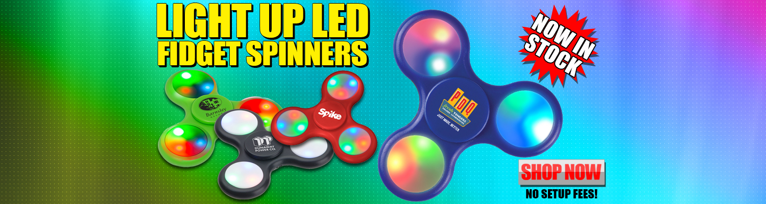 Promotional LED Fidget Spinners