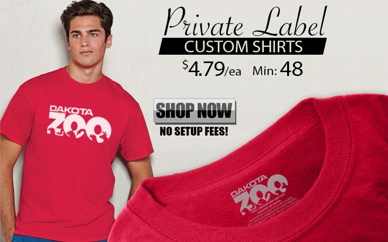 Promotional Private Label T-Shirts