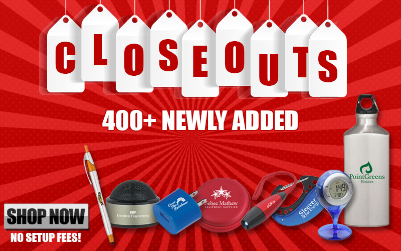 Promotional Product Closeouts