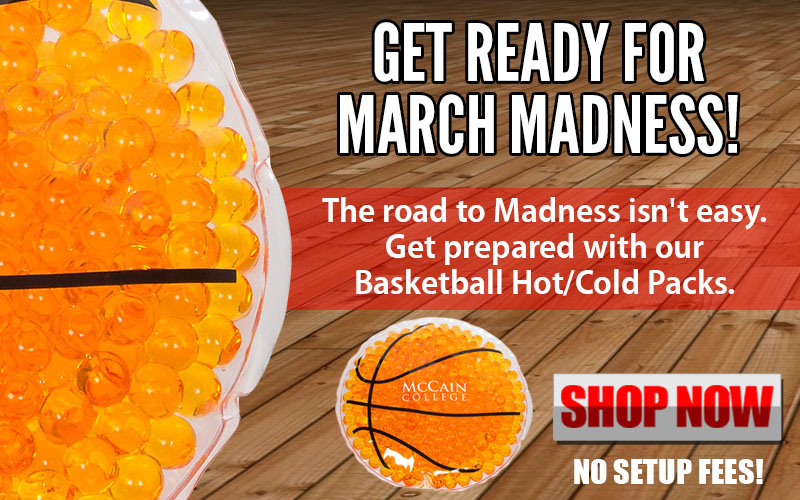 Promotional Basketball Hot/Cold Packs