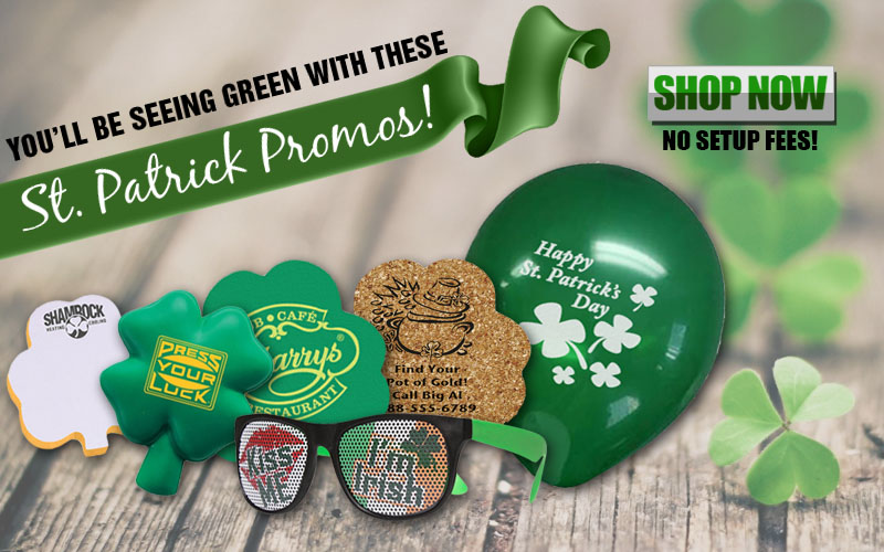 St. Patrick's Day Promotional Products