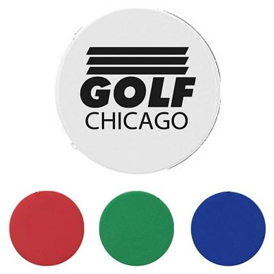 Promotional Plastic Green Golf Ball Marker