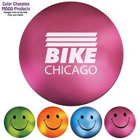 Mood Color Changing Smiley Face Stress Ball