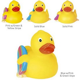 Promotional Rubber Surfboard Duck