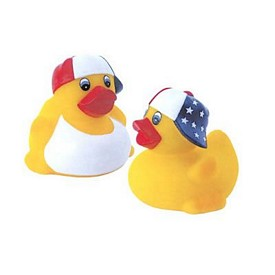 Customized Patriotic Rubber Duck