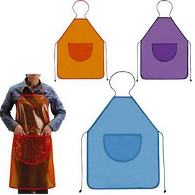 Custom Perfect Fit Colored Pvc Apron