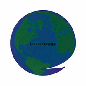 Customized World Globe Letter Opener