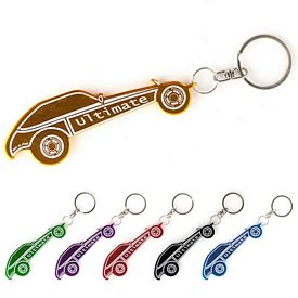 Promotional Dune Buggy Car Bottle Opener Key Chain