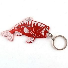 Promotional Fish Bottle Opener Key Chain