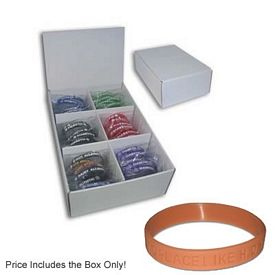 Promotional Silicone Bracelet Display Box