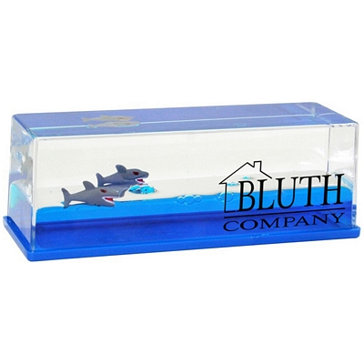 Customized Shark Wave Paperweight