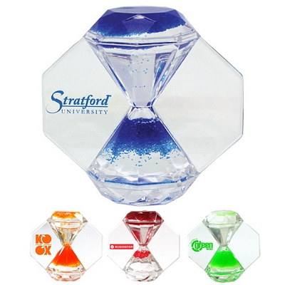 Promotional Times Up Sand Timer Paperweight