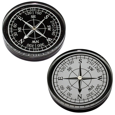 Promotional Large Paperweight Compass