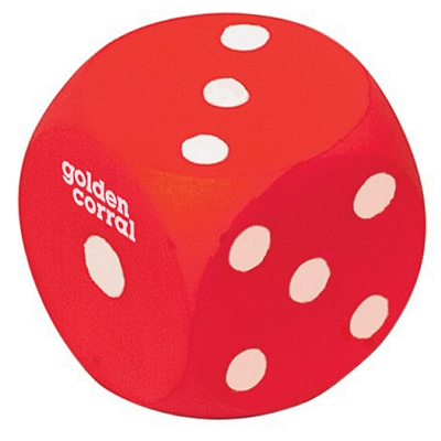 Promotional Dice Squeezie Stress Reliever