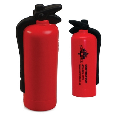 Promotional Fire Extinguisher Squeezie Stress Reliever