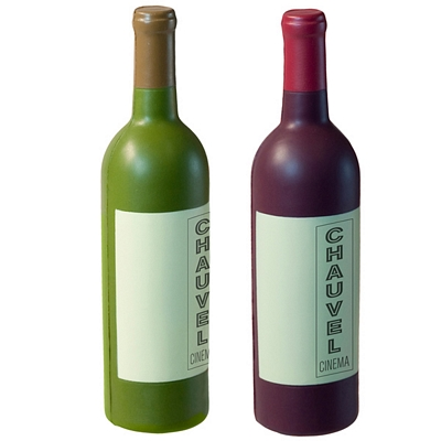 Customized Wine Bottle Squeezie Stress Reliever