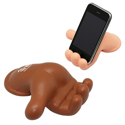 Promotional Hand Phone Holder Squeezie Stress Reliever