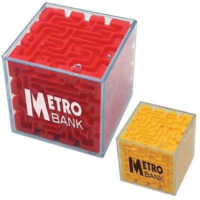 Promotional Cube Maze Puzzle Toy