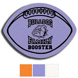 Promotional Football Shammy Coaster