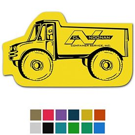 Custom Dump Truck Classic Rubber Medium Jar Opener