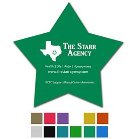 Promotional Star Classic Rubber Medium Jar Opener