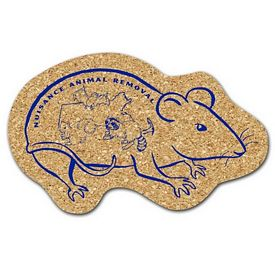 Promotional Rat Medium Cork Coaster