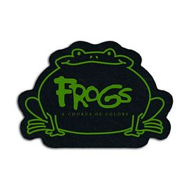 Customized Frog Recycled Tire Small Coaster