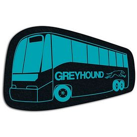 Promotional Bus Recycled Tire Medium Coaster