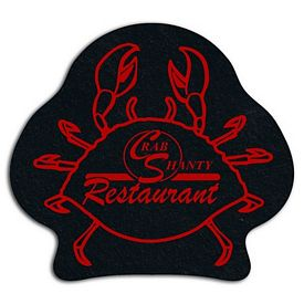 Customized Crab Recycled Tire Medium Coaster