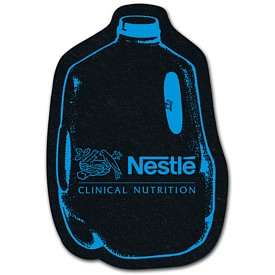 Promotional Milk Recycled Tire Medium Coaster