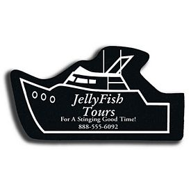 Custom Yacht Recycled Tire Medium Coaster