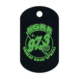 Promotional Recycled Tire Dog Tag