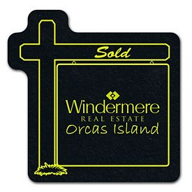 Custom Real Estate Sign Re-Tread Medium Jar Opener