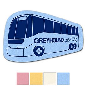 Promotional Bus Compressed Medium Sponge