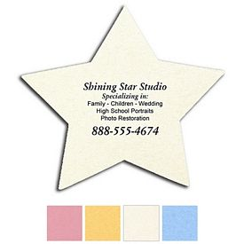 Promotional Star Compressed Medium Sponge