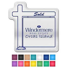 Customized Real Estate Sign Ez Gripper Medium Vinyl Jar Opener