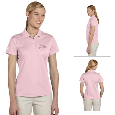 Customized adidas A131 Ladies ClimaLite Basic Short-Sleeve Polo