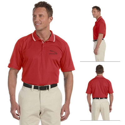 Customized adidas A14 Mens ClimaLite Tech Athletic Polo
