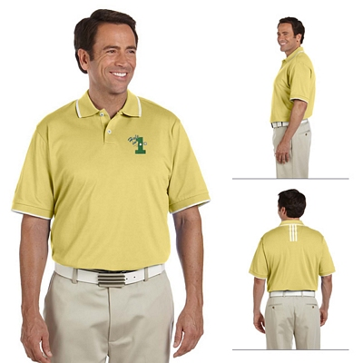 Customized adidas A88 Mens ClimaLite Tour Jersey Short-Sleeve Polo