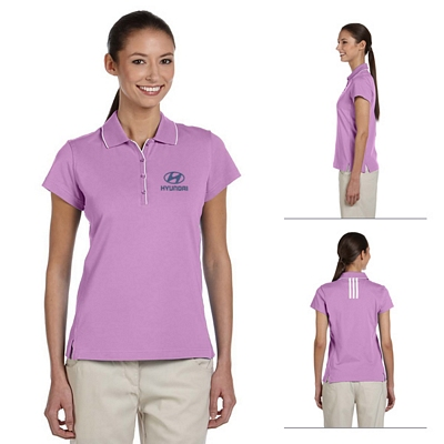 Customized adidas A89 Ladies ClimaLite Tour Jersey Short-Sleeve Polo