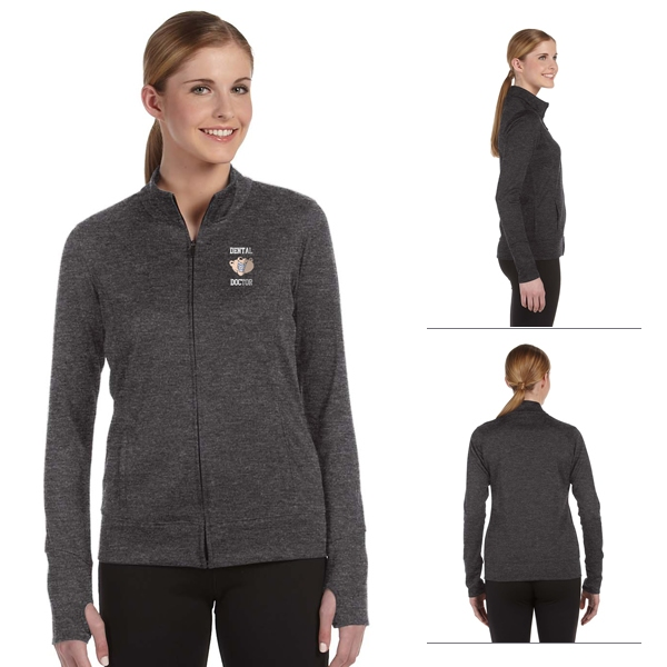 All Sport W4009 Ladies' Lightweight Jacket | Embroidered Logo All ...