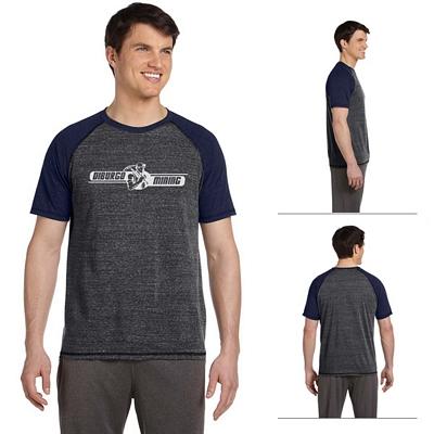 Customized Alo M1101 Mens Performance Triblend Short-Sleeve T-Shirt