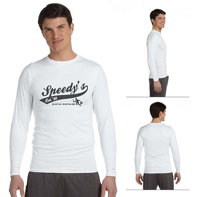 Customized Alo M3003 Mens Long-Sleeve Compression T-Shirt