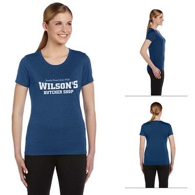 Customized All Sport W1009 Ladies Sports T-Shirt