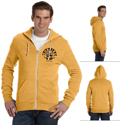 Customized Alternative AA9590 Unisex Long-Sleeve Zip Hoodie