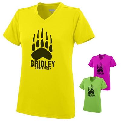 Customized Augusta Sportswear 1072 Ladies Exa Jersey T-Shirt