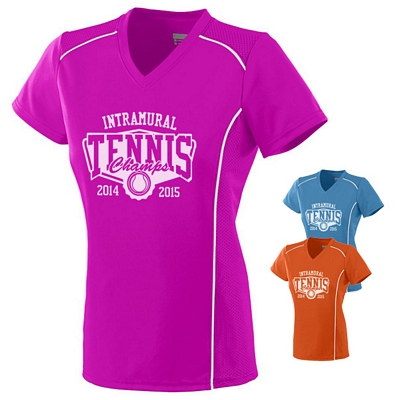 Customized Augusta Sportswear 1092 Ladies Winning Streak Jersey T-Shirt