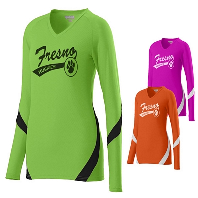 Customized Augusta Sportswear 1325 Ladies Dig Sport Jersey Shirt